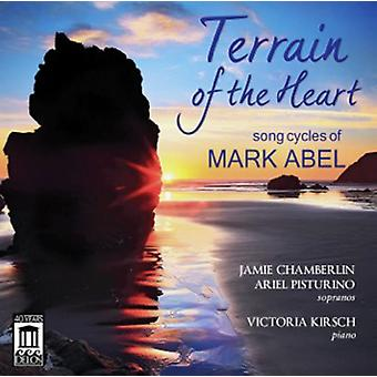 C.F. Abel - Terrain of the Heart-Song Cycles of Mark Abel [CD] USA import