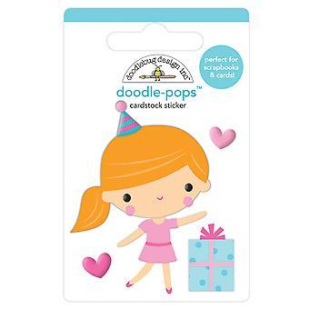 Doodlebug Design Party Girl Doodle-Pops