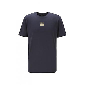 Hugo Boss Athleisure Hugo Boss Men's Tee 6 Navy Blue T-shirt