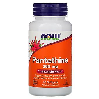 Maintenant Aliments, Panethine, 300 mg, 60 Softgels