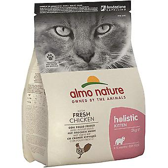 Almo Nature Holistic Kitten Dry Food With Chicken And Rice