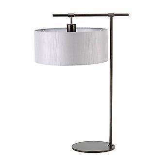 1 Lampe de table claire Brun foncé, E27