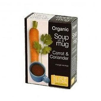 Just Natural - Org Soup Carrot & Coriander 4 x 17g