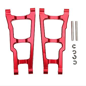2PCS 4x4 Aluminum Upgrade Front Swing Arm for Traxxas Slash Red