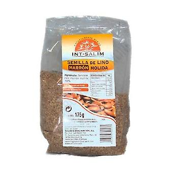 Ground Brown Seed Flaxseed 175g