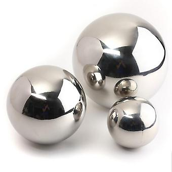 16mm 19mm 25mm Stainless Steel Mirror Sphere Hollow Ball, For Garden Ornament