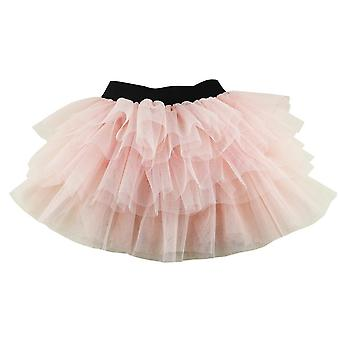 Girls Skirts Brown Tutu Fluffy For Baby 3-8 Years Pettiskirt