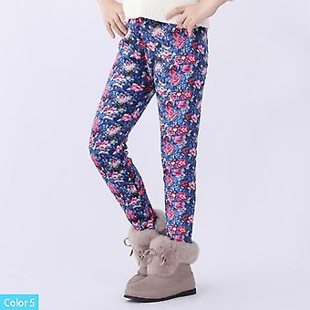 Girls Leggings Toddler & Kids Thick Warm Children Winter Autumn Print Flower Pants