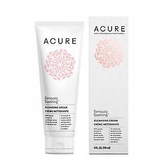 Acure Sensitive Facial Cleanser, 4 Oz