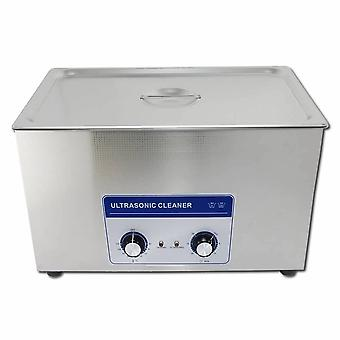 30l Professional Ultrasonic Cleaner Machine With Mechanical Timer Heated Stainless Steel Cleaning Tank 110v/220v