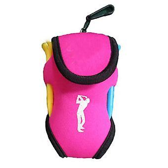 Pieni golfpallo laukku, mini vyötärö pakkaus, Tee Neopreeni pidike, Urheilu päällä