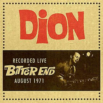 Dion - Live at the Bitter End 1971 [CD] USA import