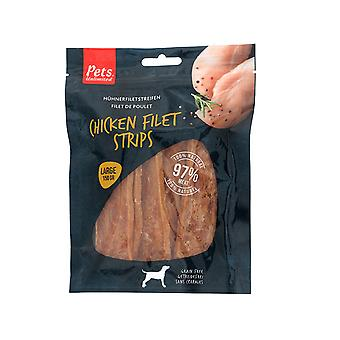 Pets Unlimited Chicken Fillet Strips Large 150g 10P00501