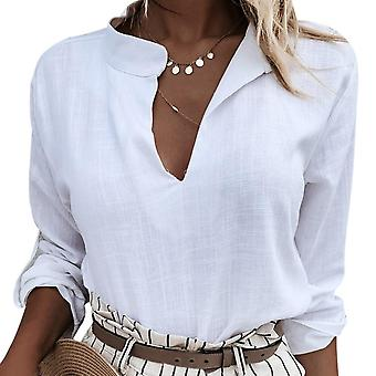 Womens Blouses, Spring, Autumn Tops, Loose Long Sleeve - Shirt Blusas