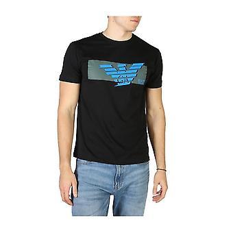 EA7 - Clothing - T-Shirts - 3HPT48_PJT3Z_1200 - Men - black,blue - XL