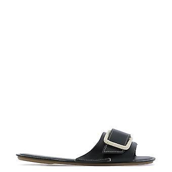 Rodo S0287238900 Women's Black Leather Sandals
