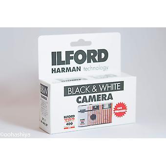 Ilford xp2 σούπερ κάμερα μίας χρήσης με φλας (27 εκθέσεις) μαύρο και άσπρο cat ταινία1174186