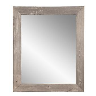 Urban Frontier Barnwood Encadré Vanity Wall Mirror 27''X 32''
