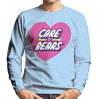 Care Bears låse Magic Pink Heart Mænd's Sweatshirt
