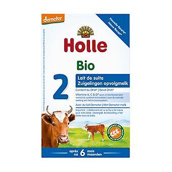 Follow-on milk 2nd age demeter 600 g of powder