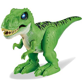 Zuru Robo Alive attackerar T-Rex Dinosaur-Jungle Green