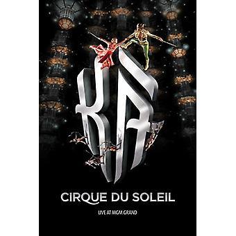 Cirque du Soleil - Ka c2004 filmaffisch (11 x 17)