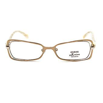 Ladies'Spectacle frame Guess Marciano GM125-GLDSI Golden (ø 51 mm)