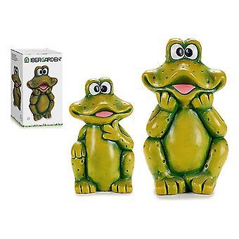 Puutarha patsaat Valikoima malleja lähetetty satunnaisesti mukaan varasto keraaminen sammakko