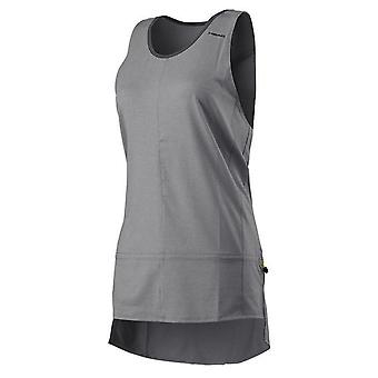 Head Womens Vision Loose Tank Top Gym Running Vest Grey 814437 GM