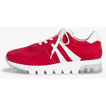 Batom camurça sapatos planos