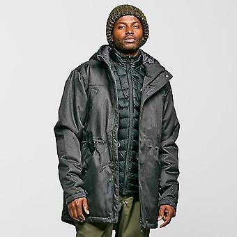Peter Storm Men's Textured Insulated Jacket Grey