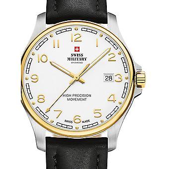 Reloj masculino militar suizo por Chrono SM30200.28, cuarzo, 39 mm, 5ATM