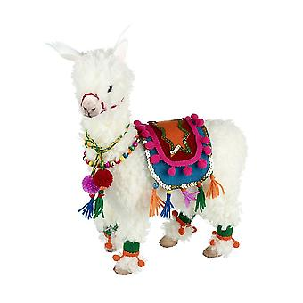 Feestelijke Stof Lama Groot - Kerst decoraties - Winkel Display