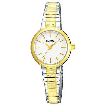 Lorus Womens | White Dial | Expandable Two Tone Bracelet RG238NX9 Watch