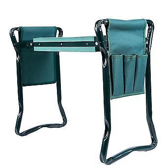 Zahradní sedačka skládací zahradní stolička z nerezové oceli
