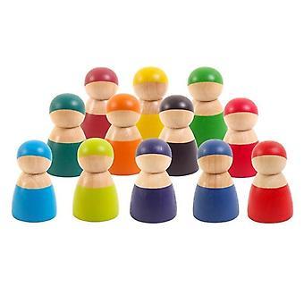 Renkli Taş Jenga Çocuk Yapı Taşı Oyuncak