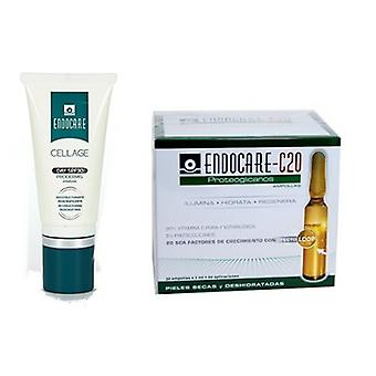 Endocare Ifc-C20 Proteoglycans 2ml 30 Ampoules + Cellage Day Spf 30 15 ml