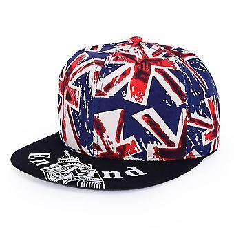 Fashion Straight Visor Snapback Baseball Hip-hop Cap/women  (hlm-x-001 Blue)