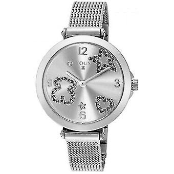 Tous watches icon mesh watch for Women Analog Quartz with stainless steel bracelet 600350380