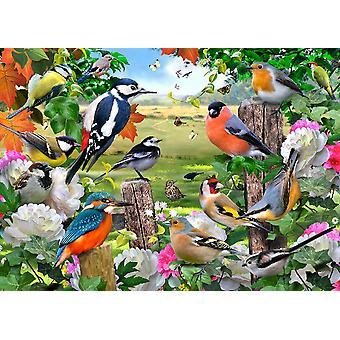 Tuftop Large Textured Worktop Saver, British Birds 50 x 40cm