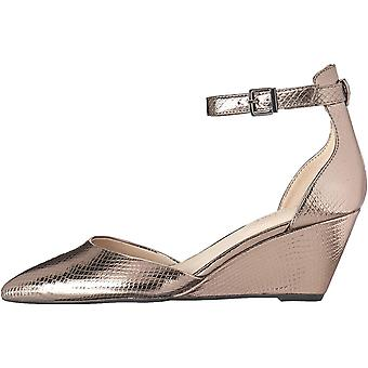 Kenneth Cole New York Women's Ellis Wedge Pump with Ankle Strap