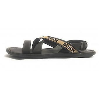 Men's Shoes Elite Sandal Leather Bands Moro Head Craft Us17el38