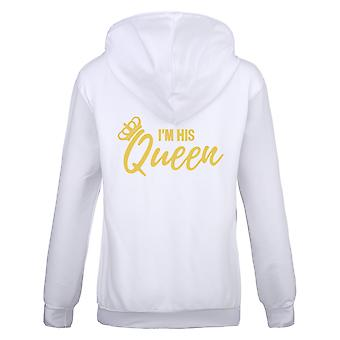 Bold I Am His Queen T-shirt For Women's