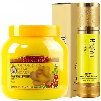 Ginger Hair Mask Treatment & Hair Care Oils Moisturizing, Damaged Repair