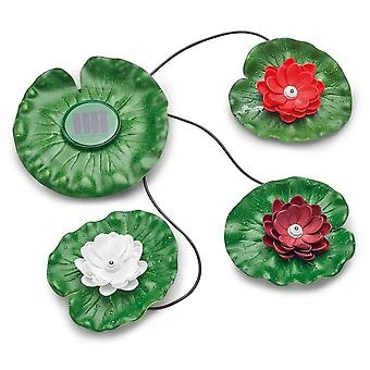 Pontec PondoSolar Lily LED Set 3