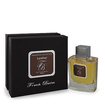 Franck Boclet Leather Eau De Parfum Spray By Franck Boclet 3.4 oz Eau De Parfum Spray