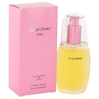 Sexperfume Pink Eau De Parfum Spray By Marlo Cosmetics 1.7 oz Eau De Parfum Spray