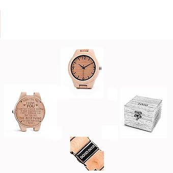 Message Engraved Carved / Laser Charge No Watch Without Product