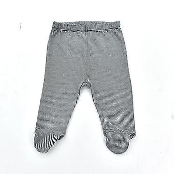 0-18 Month Baby Cotton Cute Printed Casual Footed Pants - Newborn Trouser