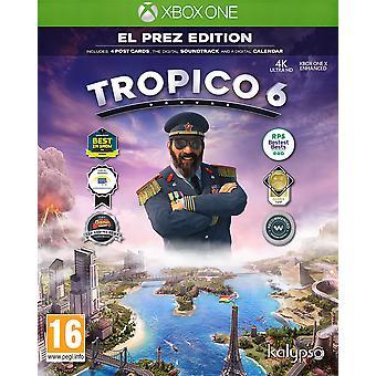 Tropico 6 El Prez Edition Xbox One Game